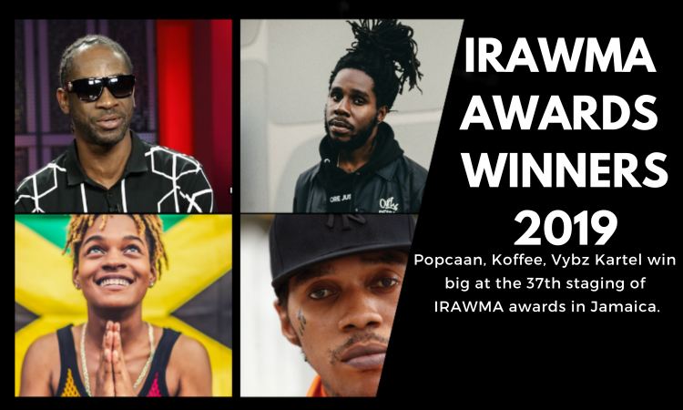 IRAWMA 2019: Koffee, Spice, Chronixx & Popcaan Among the Big
